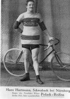 6892 Photo Repro. Cyclisme Hans Hartmann - Cyclisme