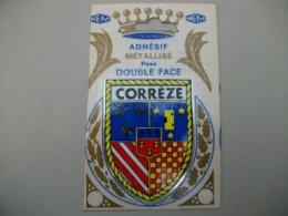 Blason Adhésif  CORREZE (19) - Sin Clasificación