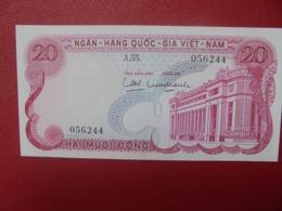 VIETNAM(SUD) 20 DÔNG 1969 PEU CIRCULER(B.5) - Viêt-Nam
