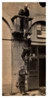 Thème Pompiers - L'Echelle à Crochet - Format Original 133x67 Mm - Sapeurs-Pompiers