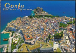 °°° GF648 - GREECE - CORFU - OLD TOWN FORTRESS - 2018 With Stamps °°° - Grecia