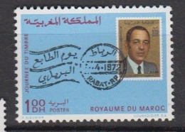 MAROC-1972-N°636** JOURNEE DU TIMBRE - Maroc (1956-...)