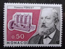 MONACO 1974 Y&T N° 962 ** - HOMMAGE A FERNAND FOREST - Nuevos