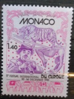 MONACO 1981 Y&T N° 1298 ** - VIIIe FESTIVAL INTERN. DU CIRQUE - Nuovi