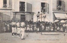 18 La Vaillante De Bourges à NERONDES - Nérondes