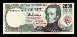 Venezuela 2000 Bolívares 1998 Pick 77c SC UNC - Venezuela