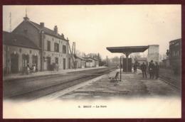 BROU La Gare Intérieure - Voie Ferrée - Chemin De Fer -  Eure-et-Loir 28160 -  Brou Arrondissement De Châteaudun - Other Municipalities