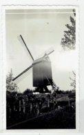 KNOKKE A Zee - Kleine Foto 11 X 6,5 Cm - Houten Molen - Knokke