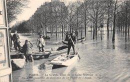 PIE.Z.19-GM-1181 : CRUE DE LA SEINE. PLACE D'ALMA - Inondations De 1910