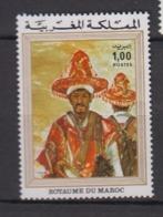 MAROC-1975-N°725** TABLEAU DE T. LALHOU - Maroc (1956-...)