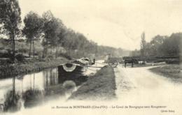 21 - Côte D'Or - Env. De Montbard - Le Canal De Bourgogne Sous Rougemont - Stockage Du Bois - C 9338 - Montbard