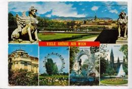VIELE GRUSSE AUS WIEN, VIENNA, Used Postcard [23518] - Vienna