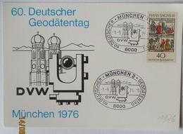 Geodäte 60. Deutscher Geodätentag München 1976 Sonderkarte (14020) - Sonstige