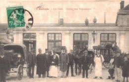 18 19 BOURGES La Gare Sortie Des Voyageurs - Bourges
