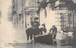 PIE.Z.19-GM-1189 : CRUE DE LA SEINE. QUAI D'ORSAY. - Inondations De 1910