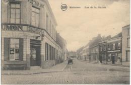 MOUSCRON : Rue De La Station - RARE VARIANTE - Moeskroen