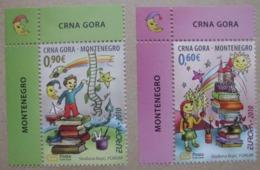 Montenegro    Kinderbücher  Cept    Europa  2010  ** - Europa-CEPT