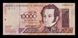 Venezuela 10000 Bolívares 2002 Pick 85c EBC XF - Venezuela