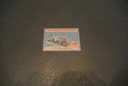 K22813  Stamp MNh - Silver Color - Ivory Coast - 2005 - Beyer-Garratt AD60 - Treni