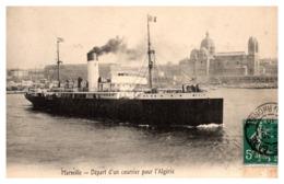 Marseille - Départ D'un Courrier Pour L'Algérie - Non Classificati
