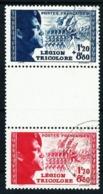 Francia Nº 565a/66a (unidos Con Interpanel) Usado - Francia