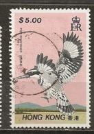 Hong Kong 1988 Oiseau Brid Obl - 1997-... Speciale Bestuurlijke Regio Van China