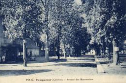 D 5319 - Pompadour (19) Avenue Des Marronniers - Altri Comuni