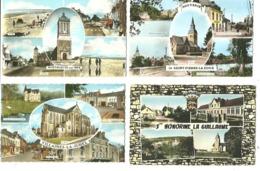 Lot 12 CPSM (14x 8,5)  Multivues France    Petites Villes (voir Scans) - Cartes Postales