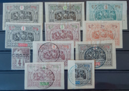 OBOCK - Canceled/MLH - 11 Stamps From YT 12-53 ... - Obock (1892-1899)