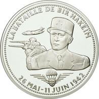 France, Médaille, La Bataille De Bir Hakeim, History, FDC, Argent - France