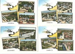 Lot 11 CPSM  Multivues  France  Cp Lapie  ( Voir Scans) - Cartes Postales