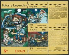 COSTA RICA Bloc UPAEP 2012-Mythes/Légendes Neuf ** MNH - Costa Rica
