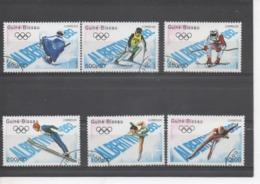 GUINEE-BISSAU - Jeux Olympiques D'hiver à Albertville (France) : Patinage, Saut à Skis, Descente, Slalom, Hockey, Bobsle - Guinea-Bissau