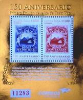 COSTA RICA Bloc 150ans 1ers Timbres 2013 Neuf ** MNH - Costa Rica