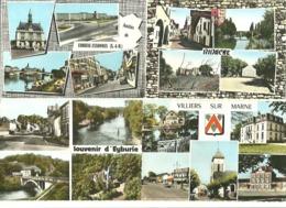 Lot  20  CPSM  Multivues  France    ( Voir Scans) - Cartes Postales