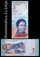 Venezuela 2 Bolivares 2012 Pick 88d SC UNC - Venezuela