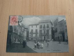 CP72/ ESPAGNE JEREZ / PIAZA DE PLATEROS / CARTE VOYAGEE - España