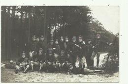 Militairen -officieren - Camp Van Beverloo Met Hond - Militari