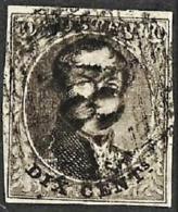 Zegel N° 3 Goed Gerand P ? - 1849-1850 Medaillen (3/5)