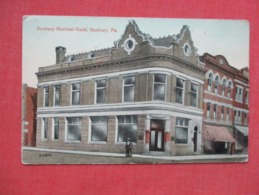 Sunbury National Bank   Sunbury    Pennsylvania   Ref 3629 - United States