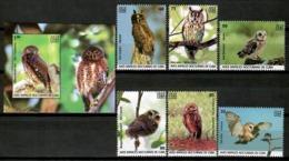 Cuba 2019 / Birds Owls MNH Aves Búhos Oiseaux Vögel / Cu14820  C4-7 - Oiseaux