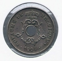 LEOPOLD II  * 10 Cent 1904 Frans * Nr 9945 * FDC - 04. 10 Céntimos