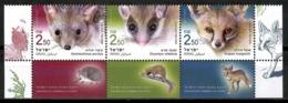 Israel 2019 / Animals Mammals MNH Fauna Mamíferos Säugetiere / Cu14321  4-17 - Sellos
