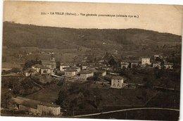 CPA La Ville-Vue Générale Panoramique (236246) - Francia