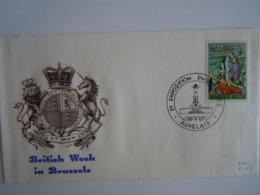 België Belgium 1967 FDC Britse Week Semaine Britannique Margaretha Van York  Maragaret D'York Armoiries Cob 1432 - FDC