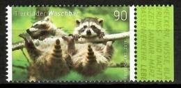 Germany 2019 Alemania / Animals Mammals Racoon MNH Fauna Mamíferos Mapache Säugetiere / Cu14338  40-2 - Sellos