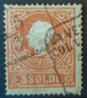 AUSTRIA / LOMBARDO-VENEZIA  - Canceled - ANK LV9 - 5 Soldi - 1850-1918 Empire