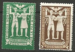 Argentina - 1947 Youth Peace Crusade MNH ** - Argentina