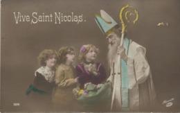 VIVE ST NICOLAS - Cachet De La Poste 1913 - Nikolaus