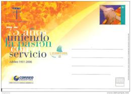 ARGENTINA - 2006 75 Anni AZIONE CATTOLICA ARGENTINA Cartolina Postale Nuova CP - Cristianesimo